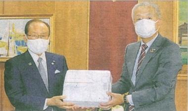 佐世保市立「急病診療所」へ空間除菌装置を寄贈しました。